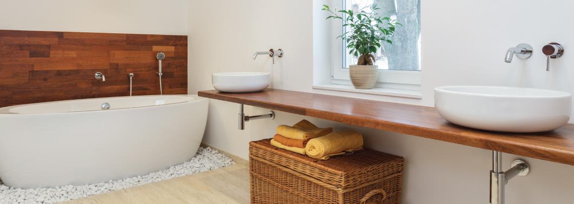 Badezimmer Aufteilung
