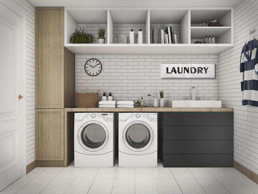 Laundry layout