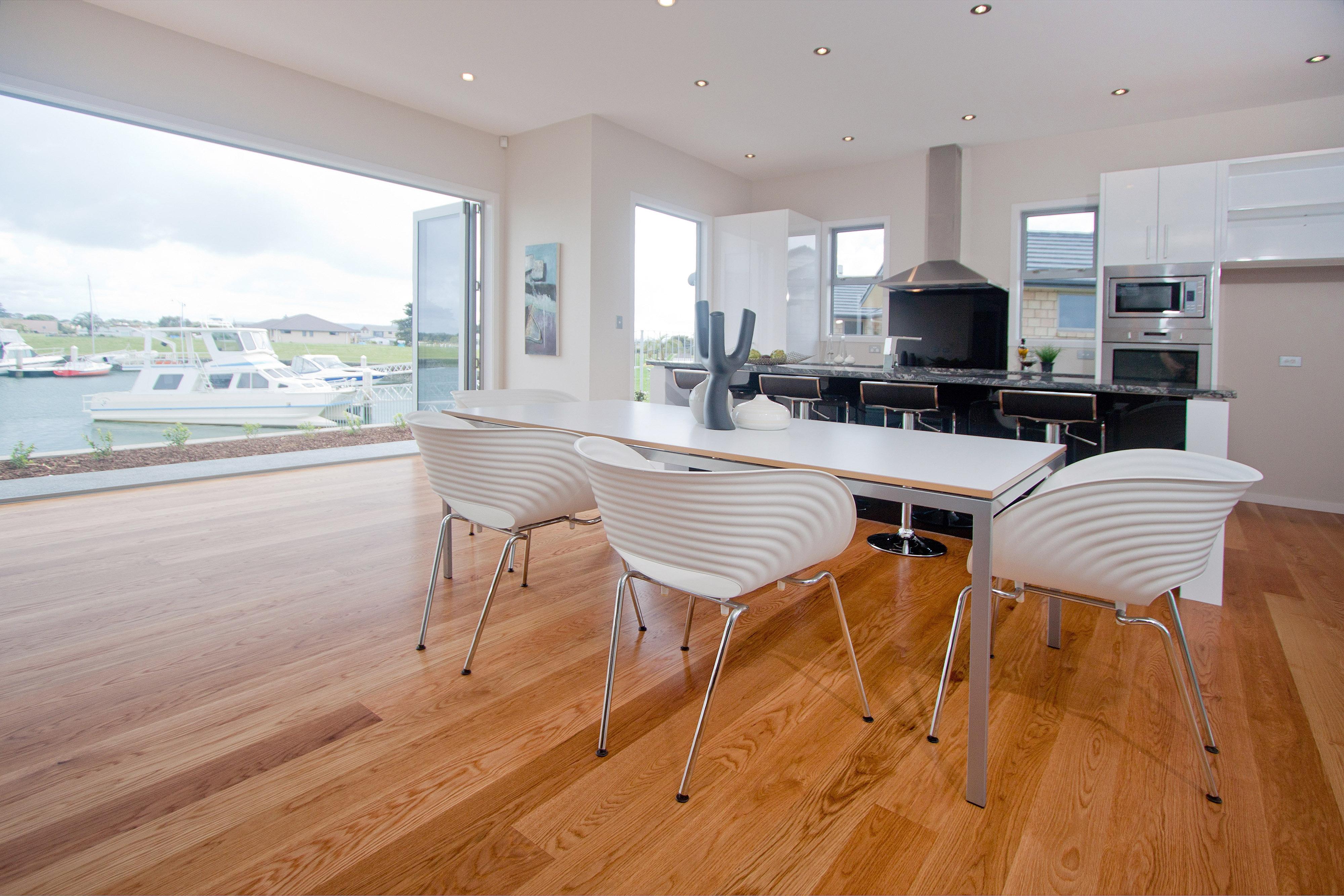 New Hard wood floor