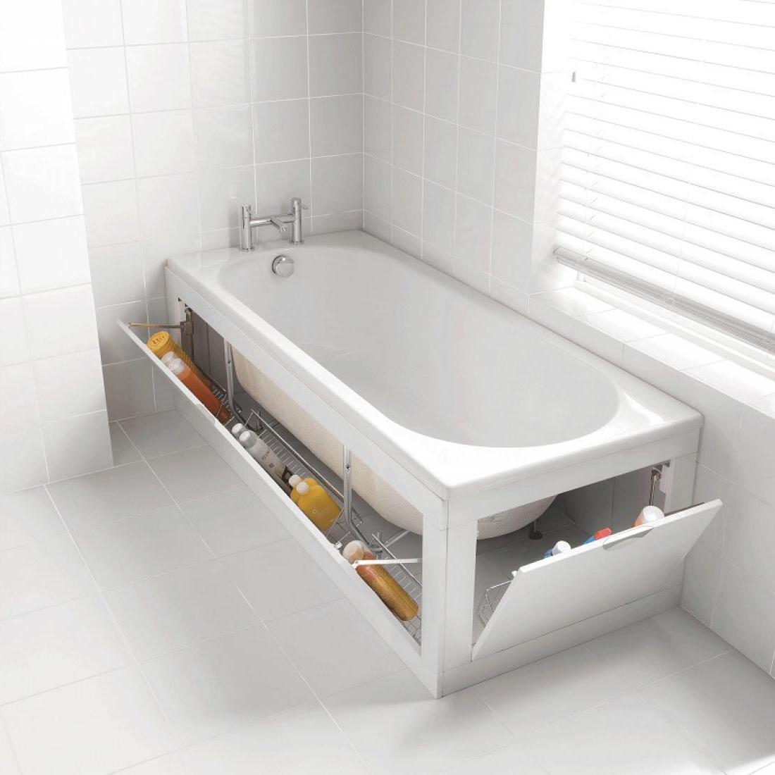 gorgeous-organizing-storage-under-bathtub-beside-window