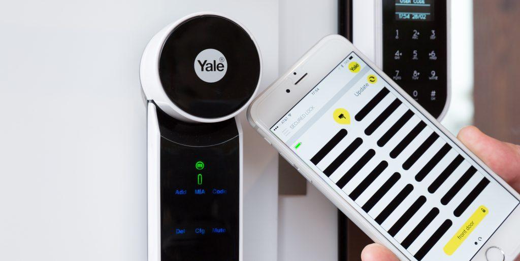 Smart home Yale lock
